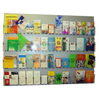 Folder wand display